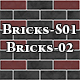 Hi-Res Texture Bricks-02 of Brick Textures - S01 - 3DOcean Item for Sale