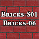 Hi-Res Texture Bricks-06 of Brick Textures - S01 - 3DOcean Item for Sale