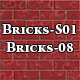 Hi-Res Texture Bricks-08 of Brick Textures - S01 - 3DOcean Item for Sale