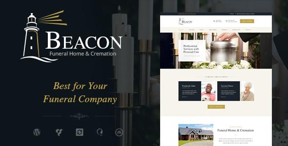 Beacon | Funeral Home WordPress Theme