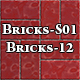 Hi-Res Texture Bricks-12 of Brick Textures - S01 - 3DOcean Item for Sale