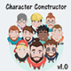 Characters Design Constructor Vector Pack - GraphicRiver Item for Sale
