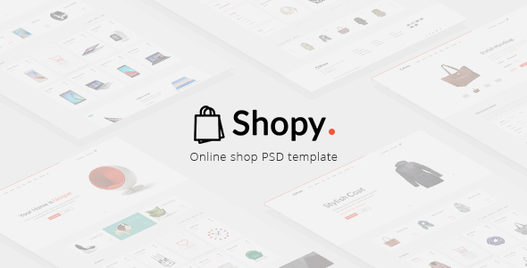 Shopy - Online Shop PSD Template - Shopping Retail