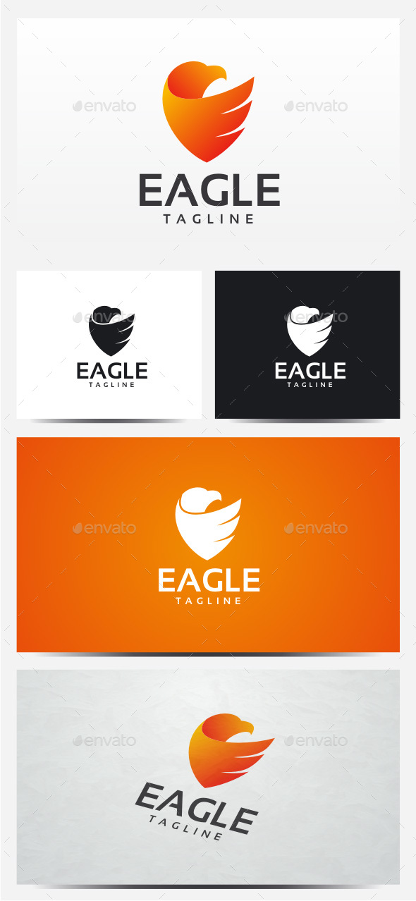 Eagle Wing logo - Animals Logo Templates