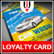 Car Wash Loyalty Card - GraphicRiver Item for Sale