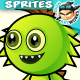Monster Enemies 2D Game Character Sprites 228 - GraphicRiver Item for Sale
