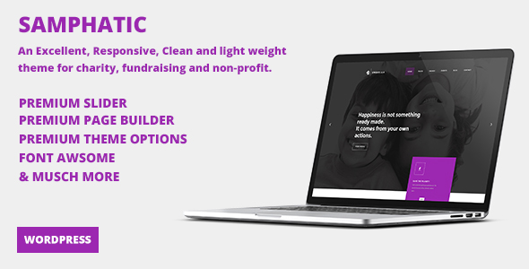 Samphatic | Charity/Non-Profit WordPress Theme - Nonprofit WordPress