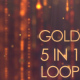 5 in 1 Gold Particle Pack - VideoHive Item for Sale