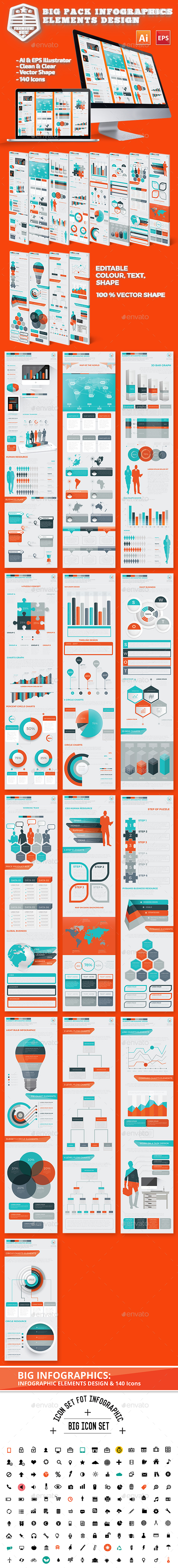 Big Pack Infographics Design - Infographics