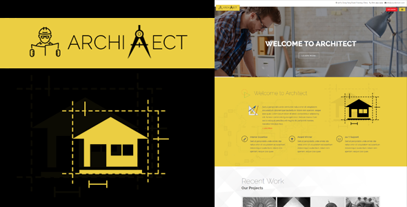 Architect - Responsive Architecture Template - Business Corporate