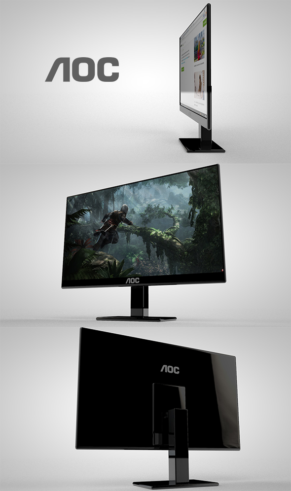 Monitor Aoc - 3DOcean Item for Sale