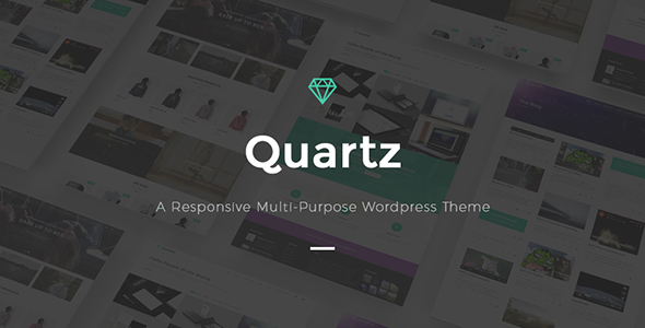 Quartz- A Responsive Multi-purpose WordPress Theme