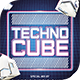 Techno Cube Flyer Template - GraphicRiver Item for Sale