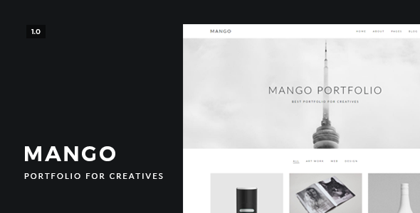Mango – Portfolio for Creatives