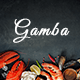 Gamba - Food & Restaurant PSD Template Nulled