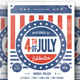 4th of july celebration fly-Graphicriver中文最全的素材分享平台