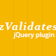 zValidates - Powerful jQuery plugin for inputs validations - CodeCanyon Item for Sale