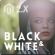 Black&White - Responsive Magento 2 and Magento 1 Theme Nulled