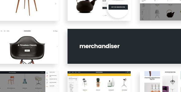 Merchandiser – eCommerce WordPress Theme for WooCommerce