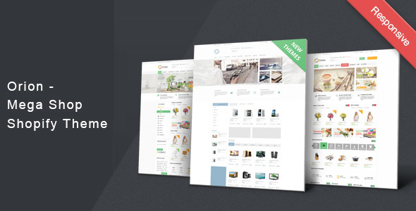 Orion - Mega Shop Shopify Theme