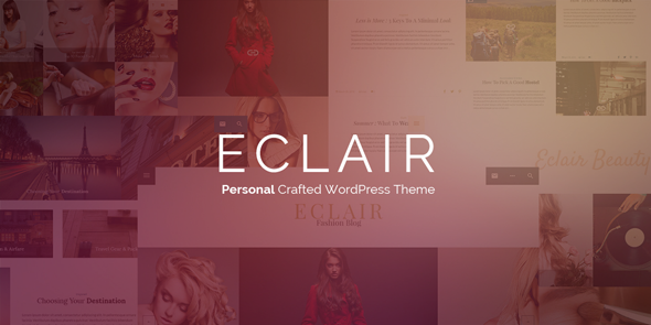 Eclair – Personal Crafted WordPress Theme
