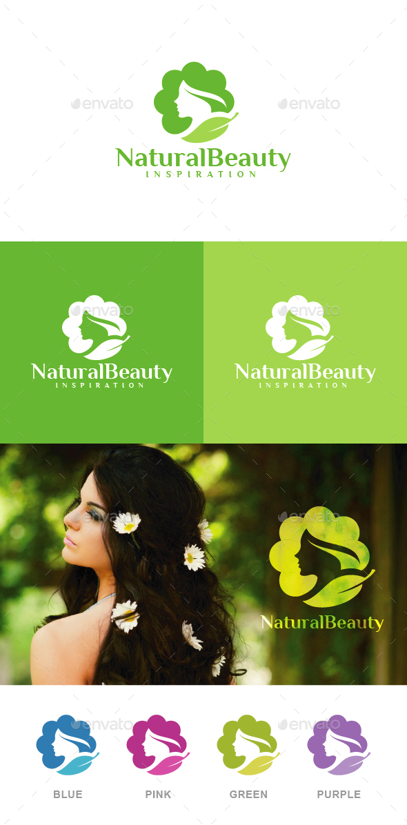 Natural Beauty Logo - Nature Logo Templates