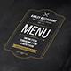 Blackboard Menu Flyer + Tab-Graphicriver中文最全的素材分享平台