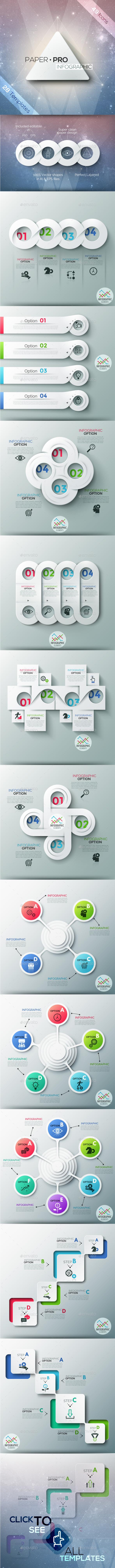 Paper-Pro Infographic - Infographics