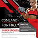Sports and Fitness Flyer - GraphicRiver Item for Sale