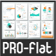 Pro Flat Infographic Brochure. Set 3 - GraphicRiver Item for Sale