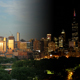 Golden Chicago Skyline at Sunset - VideoHive Item for Sale
