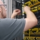 IT Engineer Paves The Yellow Ethernet Cable - VideoHive Item for Sale