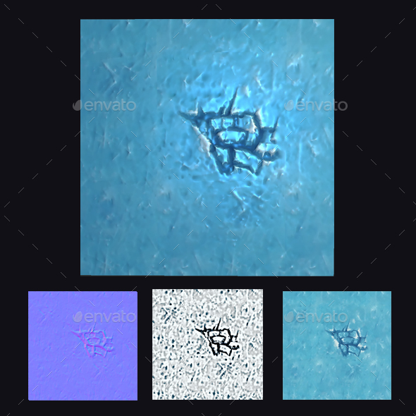 Ice Floor Texture - 3DOcean Item for Sale