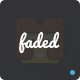 Faded - App Landing PSD Template Nulled