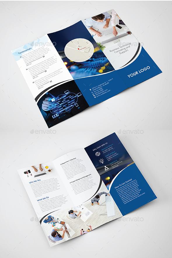 Business IT technology  - Print Templates