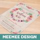 Pastel Floral Wedding Invite Package - GraphicRiver Item for Sale