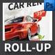 Car Rental Company Roll-upTemplate - GraphicRiver Item for Sale