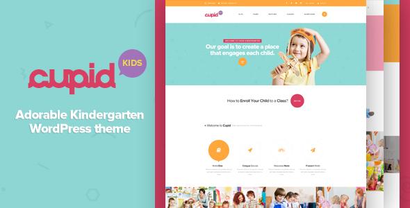 15+ Kindergarten and Elementary School WordPress Themes 2019 10