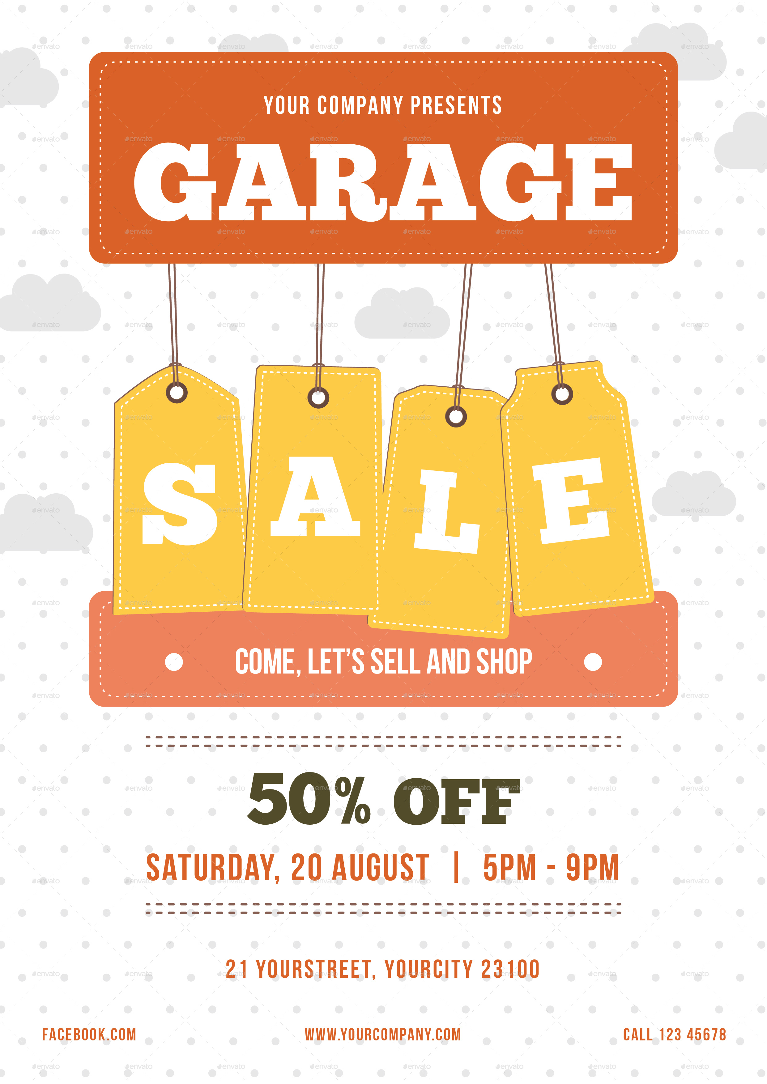 Garage Sale Flyer by infinite78910 | GraphicRiver