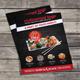 Sushi Restaurant Bi-Fold Menu - GraphicRiver Item for Sale