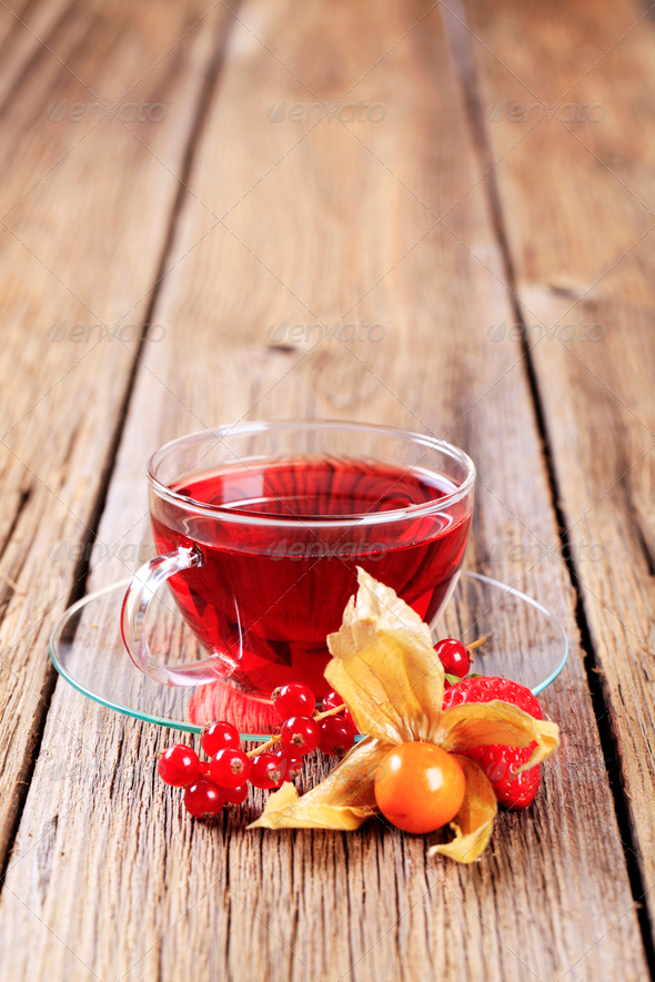 Fruit tea - Stock Photo - Images