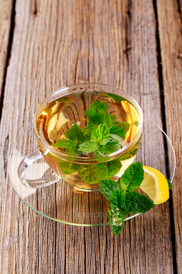 Mint tea - Stock Photo - Images