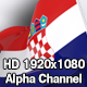 Flag Transition - Croatia - VideoHive Item for Sale