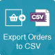 Prestashop Export Orders to CSV/Exel File Module