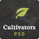 Cultivators Gardening Design - ThemeForest Item for Sale