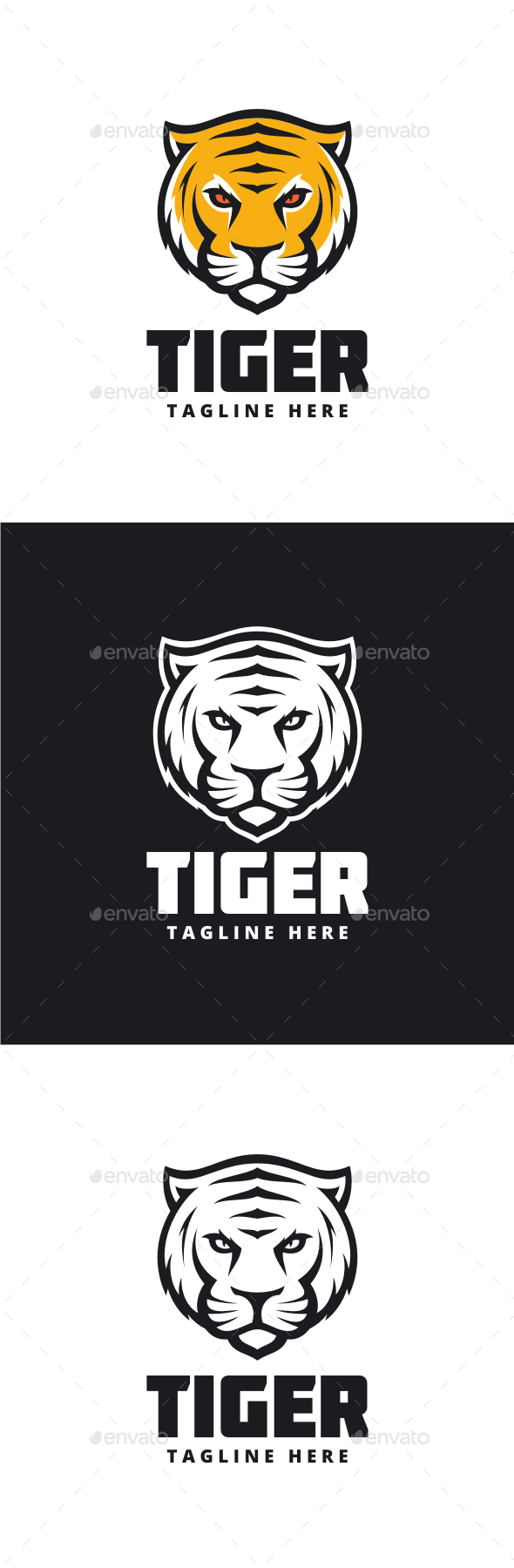 Tiger Logo - Animals Logo Templates