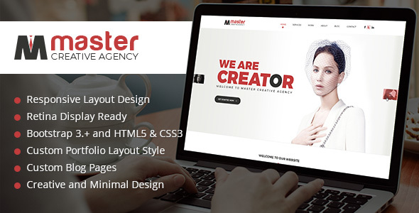 Master Creator - Multi Purpose HTML5 Website Template