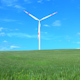 Wind Turbine and Tree - VideoHive Item for Sale