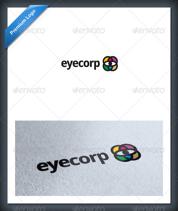 Eye Business Logo Template - Symbols Logo Templates