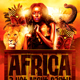 Africa Party Flyer - GraphicRiver Item for Sale